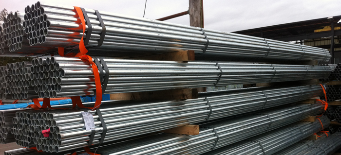 Galvanized Pipe Commercial Piping Prolink Supply Bc