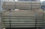 Round Wood Fence Posts
